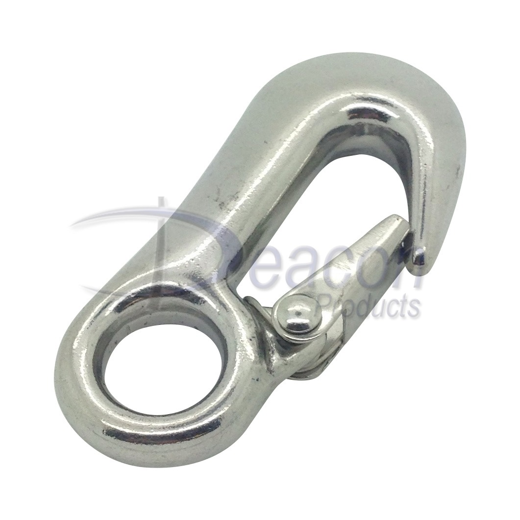 Stainless steel winch hook deacon products ltd