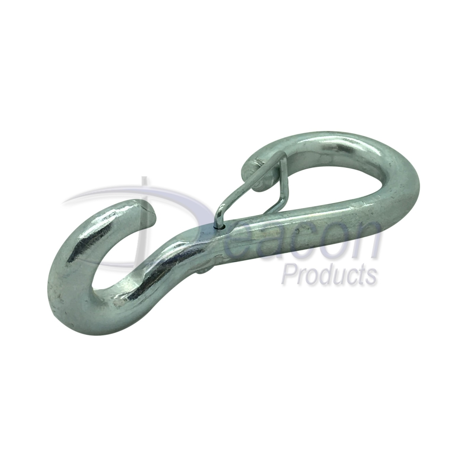 zinc-plated-spring-hook-to-crue-wire-catch